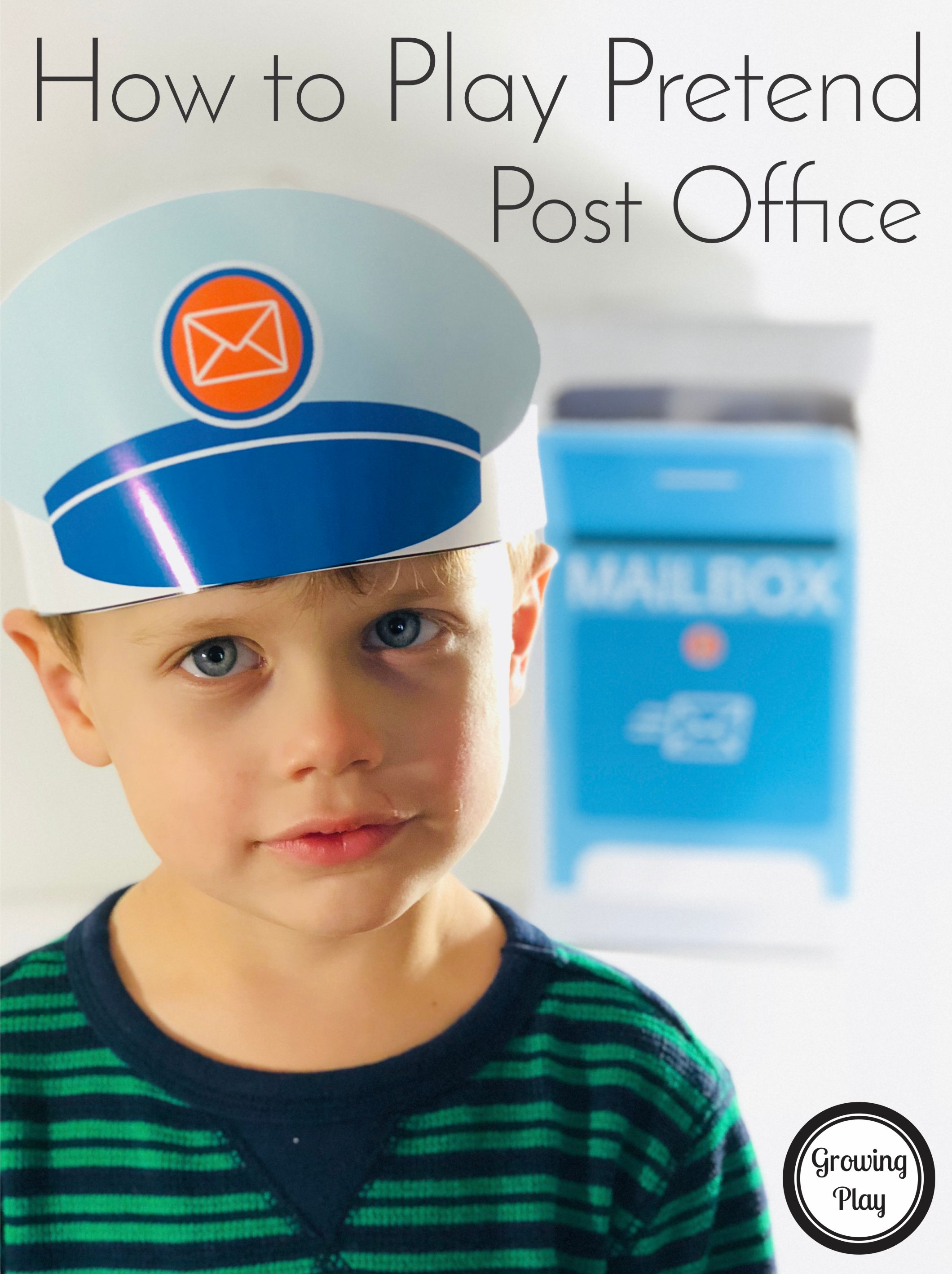 How To Play Pretend Post Office Growing Play