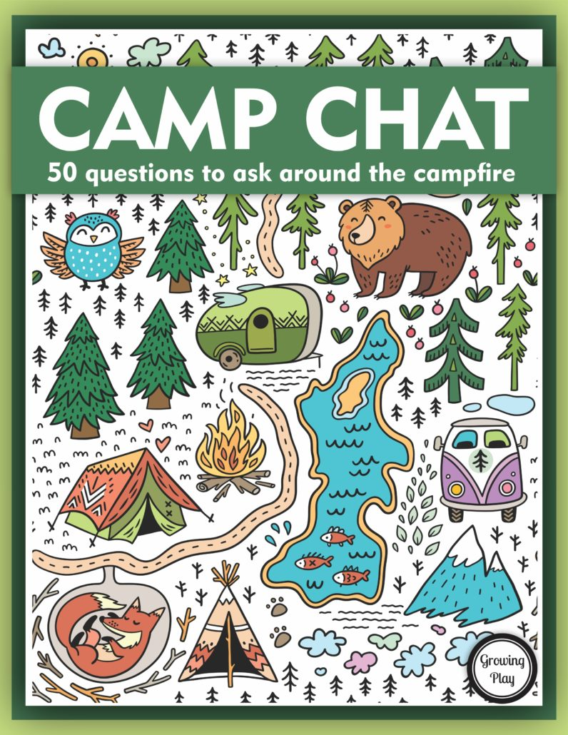Camp Chat 50 Questions to Ask Around the Campfire
