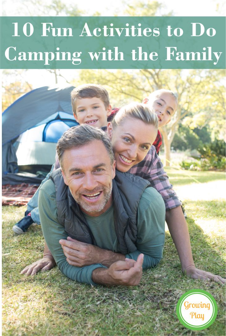 10 Fun Activities to Do While Camping with the Family