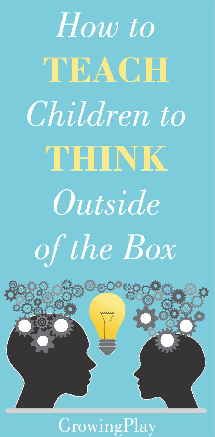 With all of the future changes and automation in our society, it is our job as parents to teach children to think outside of the box.