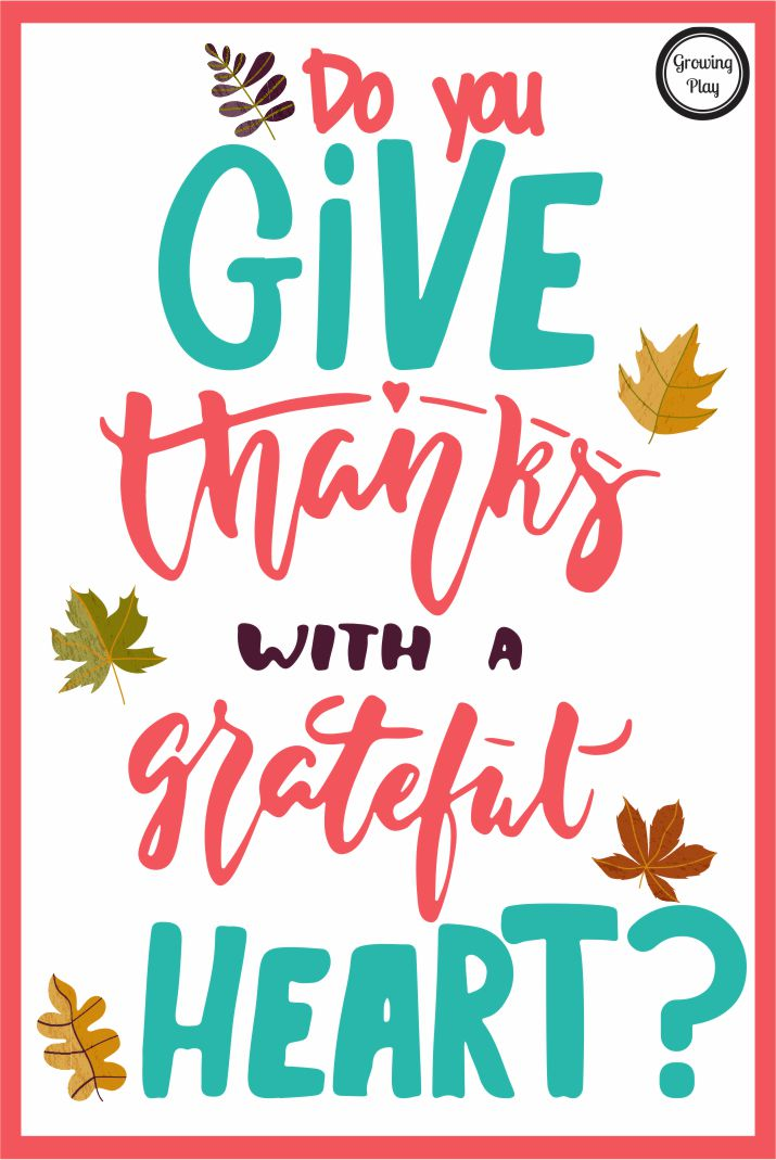 Thanksgiving is this Thursday. Stop for a moment and think do you truly give thanks at Thanksgiving? How much thought and effort do you really put into this day? Do you spend time being grateful and thankful for your friends and family? Or are you just glad that you get an extra day off work and can pig out?