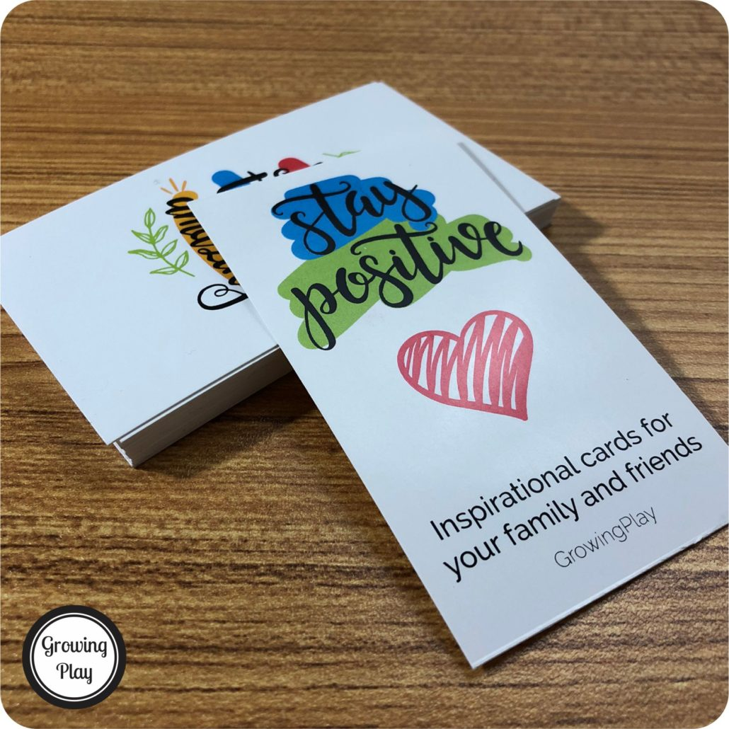 Are you looking to brighten someone's day at home, work or school?  These Stay Positive Encouragement Cards include 25 simple but important messages to share with your friends, co-workers and family members.