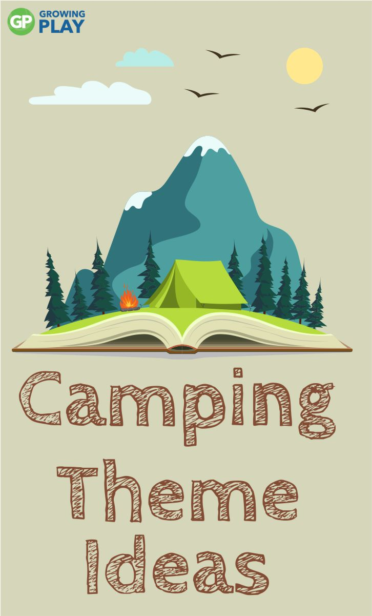 Here are some camping theme ideas you can try at home (birthday parties) or your classroom to start getting excited about warmer weather!