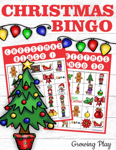 If you are in search of a cute and fun Christmas Bingo PDF for immediate download, try the Christmas Bingo Party Pack to play with up to 30 players!