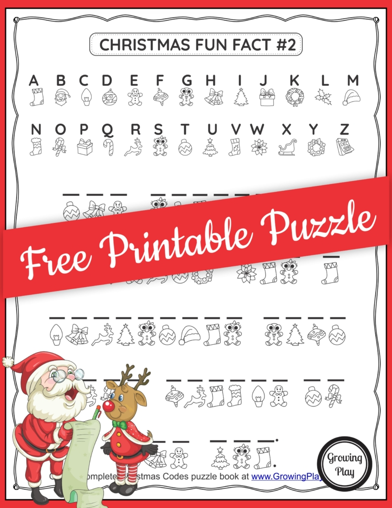 Check out this Christmas secret code worksheet to challenge your student's logic, critical thinking skills, self-regulation, and visual perceptual skills.