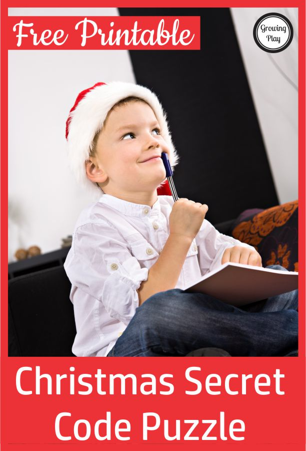 Check out this Christmas secret code worksheet to challenge your student's logic, critical thinking skills, self-regulation, and visual perceptual skills. It is free printable puzzle
