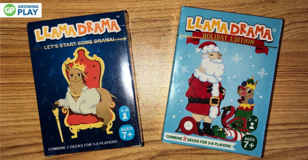 We love card games in our family for many reasons so we were excited to try this fun and competitive Llama Drama Card Game.