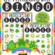 The St Patrick's Day Bingo PDF printable game is so much fun to play to celebrate St Patrick's Day. The set includes 30 calling cards with full color pictures and 30 Bingo boards in color.