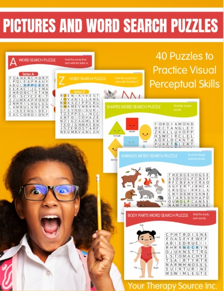 Need something to entertain the young kids? Check out these easy word search puzzles for kids (that even include pictures).