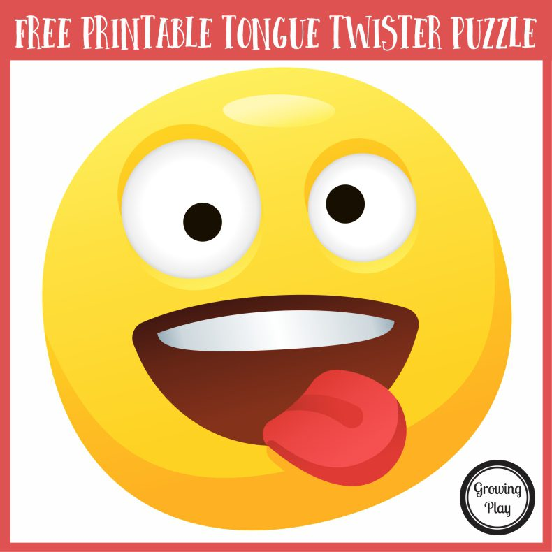 This FREE short tongue twister puzzle for kids is a mental challenge as well as good old fashioned fun!
