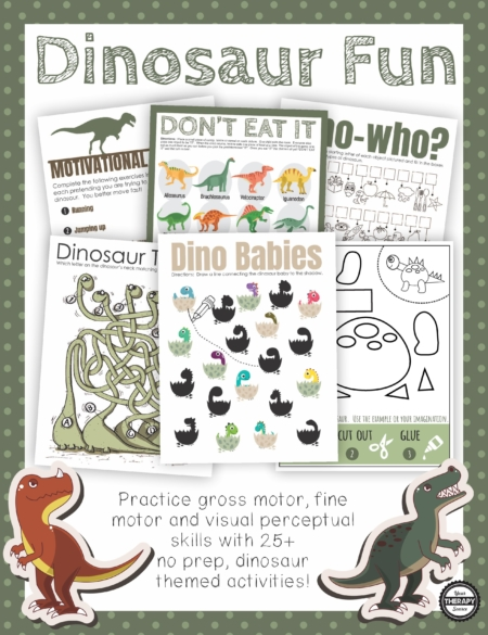 Are you in search of dinosaur puzzles and games for kids?  This Dinosaur Fun packet includes 25 no prep, puzzles, games, mazes, and activities to print and play.