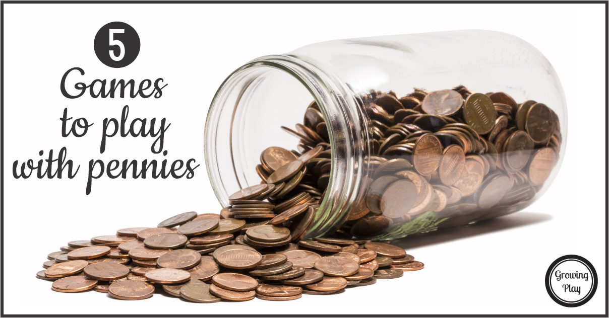 Do you have a jar of pennies at home? If yes, did you know that you can use them to play some penny games?