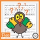 Looking for a family friendly activity for this Thanksgiving? This Thanksgiving trivia printable PDF is a FREE cryptogram puzzle
