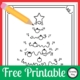 Here is a FREE Christmas Tree Dot to Dot PDF for your students to complete and color.