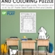 """Challenge your students with this oversized Dog Word Search Puzzle Printable. Use the one page puzzle with SOLUTION or make the 16"""" by 22"""" poster."""