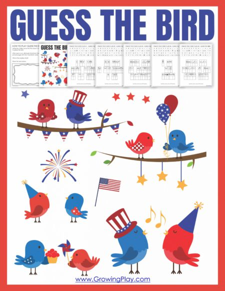 This Bird Cryptogram for Kids game will have your students deciphering the 5 clues to figure out the mystery bird! Perfect for patriotic holidays!