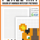 This Pixel Art Color By Number Animal Edition includes 12 mystery puzzles to color and reveal. Practice focus, attention to detail, visual tracking and visual motor skills.