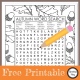 This Fall word search printable is a great activity to celebrate the season. You can download it for free at the bottom of the post.